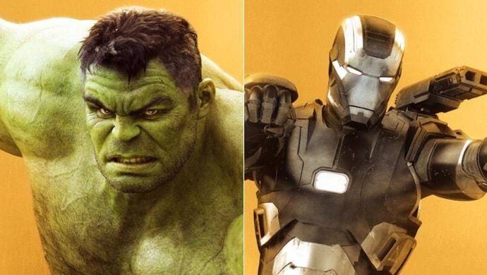 Iron Man and The Hulk