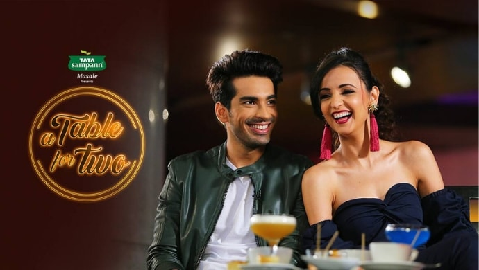 Mohit Sehgal and Sanaya Irani on A Table for Two