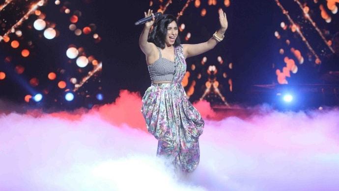 Neha Bhasin performs on Sa Re Ga Ma Pa Lil Champs 2019