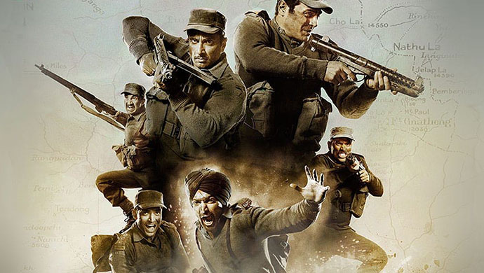 Paltan title track inspiration from a hollywood film