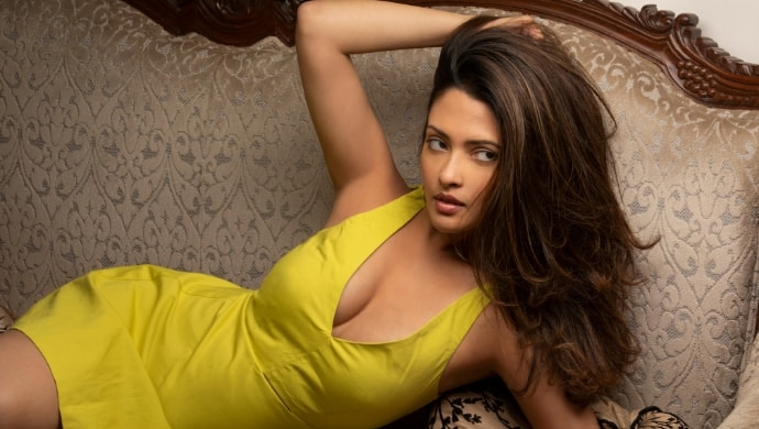 Riya Sen looks sexy in her new photoshoot