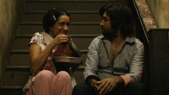 Shraddha Kapoor and Siddhant Kapoor in a scene from Haseena Parkar