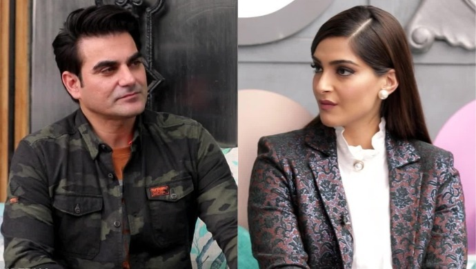 Sonam Kapoor and Arbaaz Khan in a still from Pinch