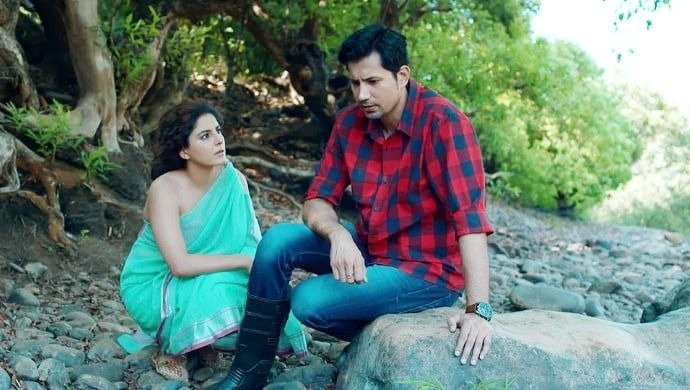 Sumeet Vyas and Isha Talwar in a still from Parchhayee