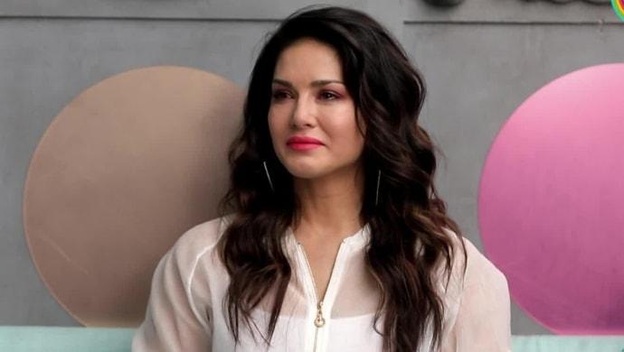 Sunny Leone in a still from Arbaaz Khan's show Pinch
