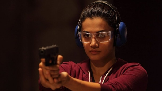 Taapsee Pannu in a scene from Naam Shabana