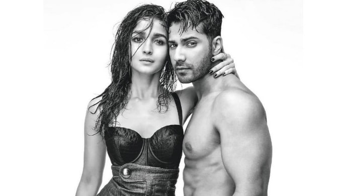 Varun Dhawan and Alia Bhatt in a still from recent photoshoot