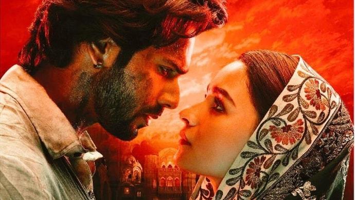 Varun Dhawan and Alia Bhatt in a still from Kalank