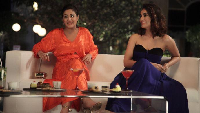 Actress Surbhi Jyoti and Surbhi Chandna