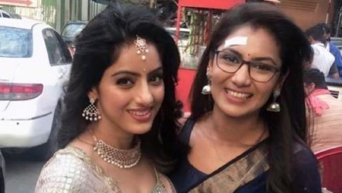 Deepika Singh with Sriti Jha