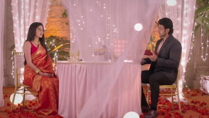 Kanika Mann and AJ's date scene from Guddan Tumse Na Ho Payega