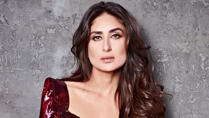 Kareena Kapoor Khan in a red dress