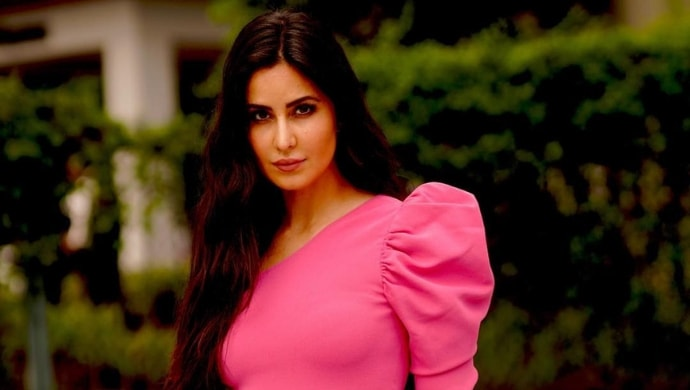 Katrina Kaif in a pink dress