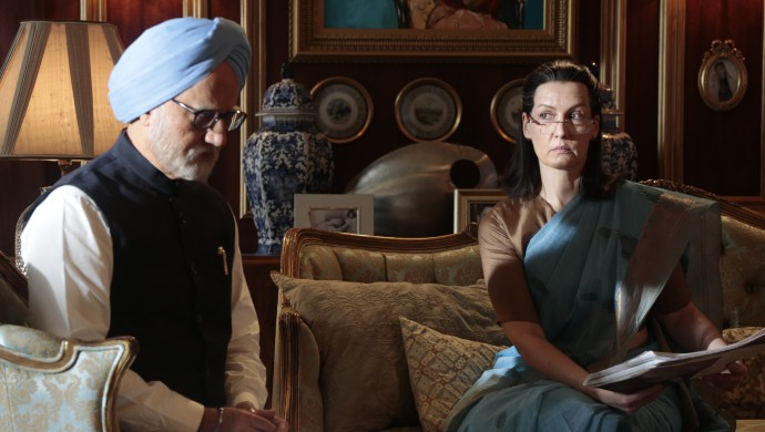 MMS and Sonia Gandhi in The Accidental Prime Minister