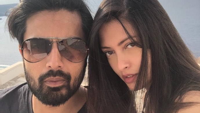Riya Sen with Shivam Tewari on a holiday