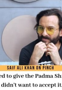 Saif Ali Khan on Pinch