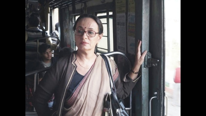 Soni Razdan in a still from Yours Truly film