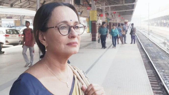 Soni Razdan in a still from Yours Truly movie