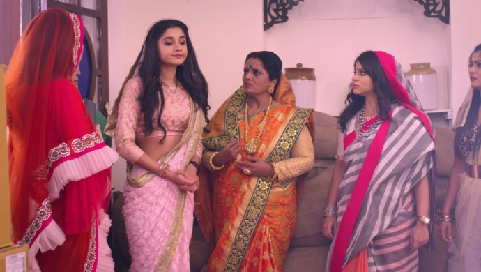Still from Guddan Tumse Na Ho Payega With Shanti Bua