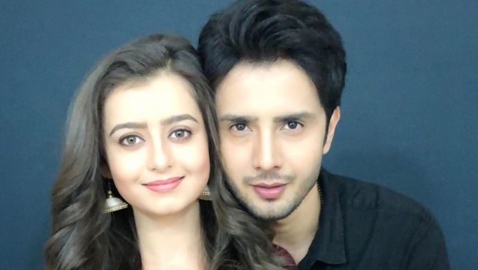 Zaan Khan and Chahat Pandey in Hamari Bahu Silk