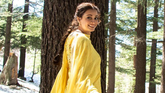 Dia Mirza as Kainaaz in a still from Kaafir series