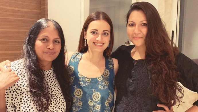 Bhavani Iyer with Sonam Nair and Dia Mirza