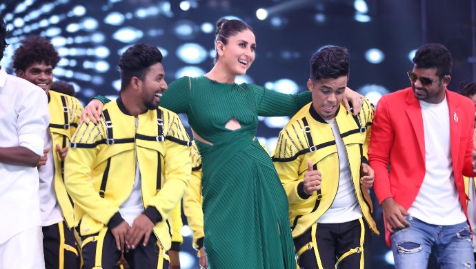 Kareena Kapoor Khan dances Dance India Dance 7