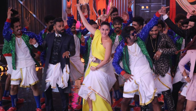 Kareena Kapoor Khan recreated Lungi Dance on Dance India Dance 7