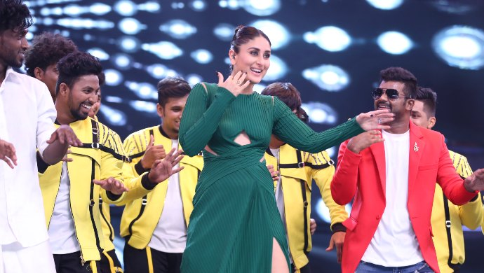 Kareena Kapoor Khan recreates Saif Ali Khan's Ole Ole