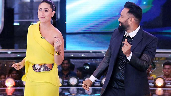 Kareena Kapoor and Bosco Martis on Dance India Dance