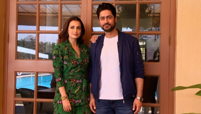 Mohit Raina and Dia Mirza promote Kaafir
