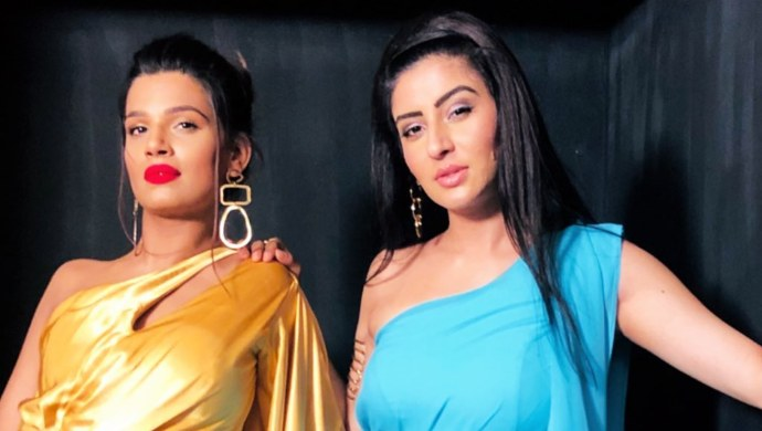Naina Singh of Kumkum Bhagya with Ashlesha Savant