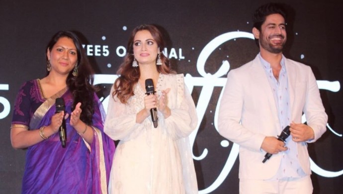 Sonam Nair with Dia Mirza and Mohit Raina