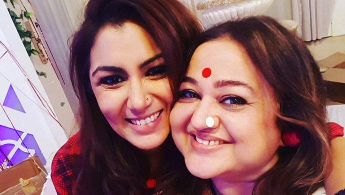Sriti Jha with Supriya Shukla