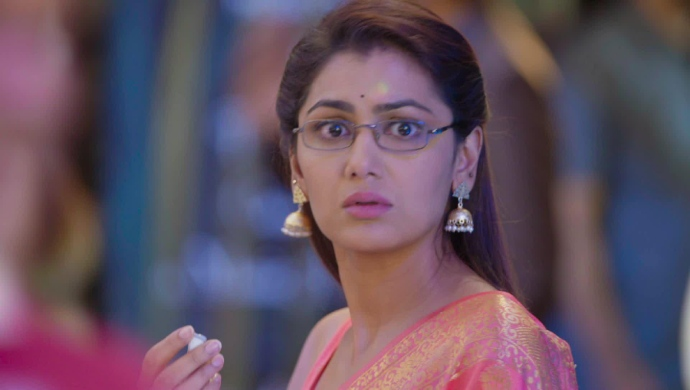 Still from Kumkum Bhagya with Sriti Jha