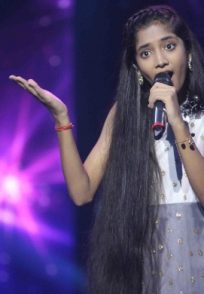 Sugandha Date at Sa Re Ga Ma Pa Lil Champs 2019 grand finale