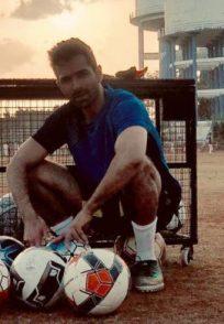 Varun Mitra plays Badal in Bombers FC