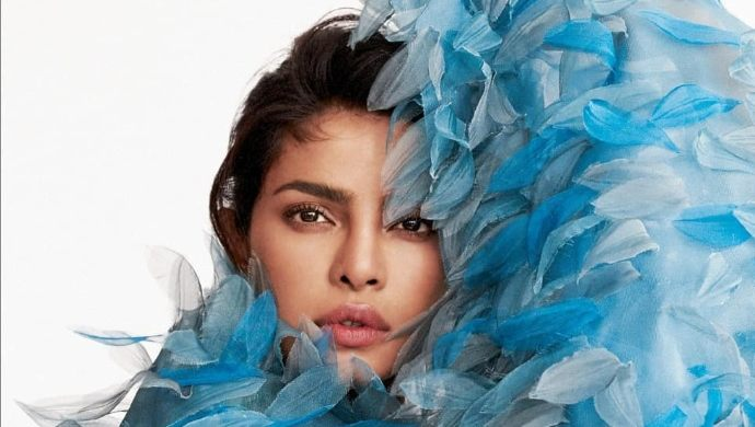 A picture of Priyanka Chopra from a magazine photoshoot