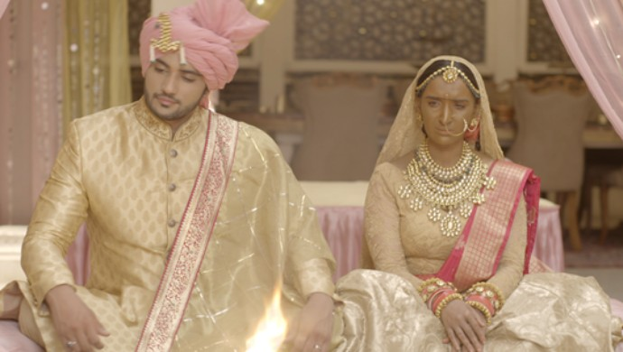 A still from Zee TV serial Manmohini