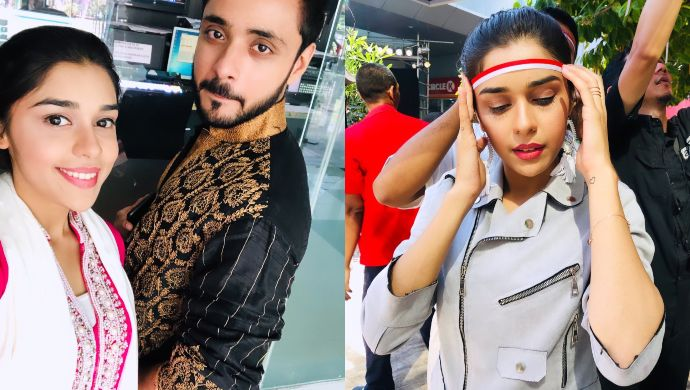Adnan Khan, Eisha Singh in Indonesia