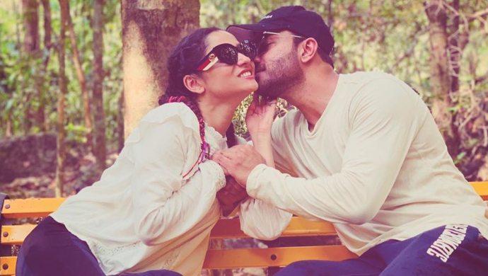 Ankita Lokhande with BF Vicky Jain (1)