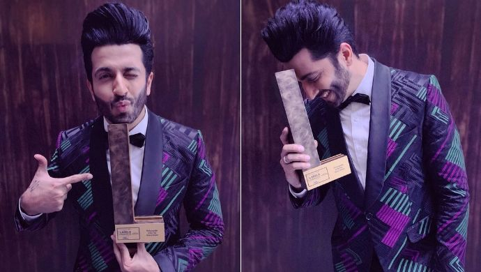 Dheeraj Dhoopar wins an award