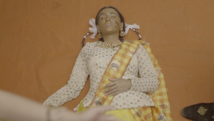 Garima Rathore in a still from Manmohini