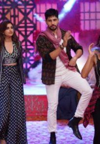 Jabariya Jodi stars on Kundali Bhagya show