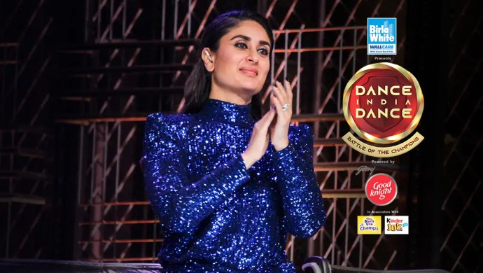 Kareena Kapoor Khan on 6-7 July 2019 Dance India Dance 7 episodes