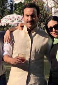 Karisma Kapoor with Saif and Kareena