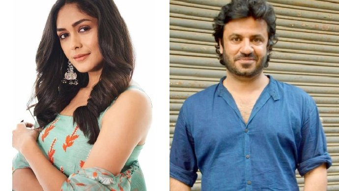 Mrunal Thakur and Vikas Bahl