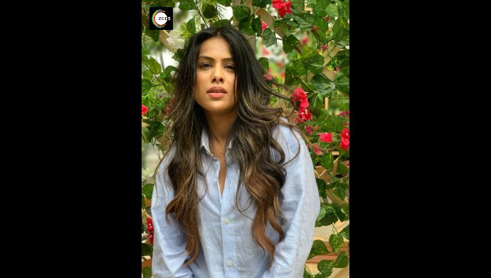 Nia Sharma on Jamai Raja 2.0 sets