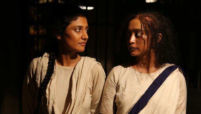 Ragini Khann and Sayani Gupta in a still from Posham Pa