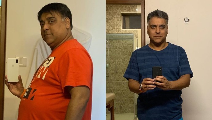 Ram Kapoor's weight loss transformation